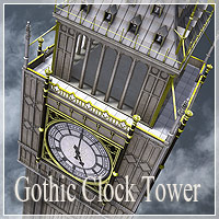 Gothik Clock Tower